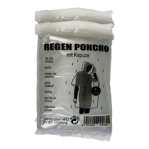 KOFFERBOX Inhalt - Poncho